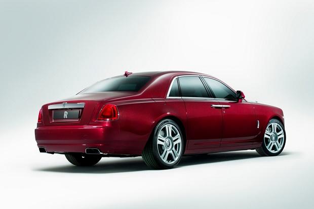 Rolls-Royce показал Ghost Series II