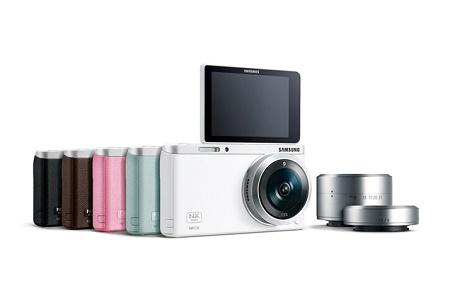 """Беззеркальная """"умная"""" камера Samsung NX Mini"""