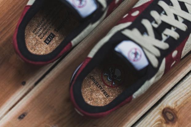 """Детальные снимки кроссовок BAIT x Saucony Shadow Original """"Cruel World 2"""""""