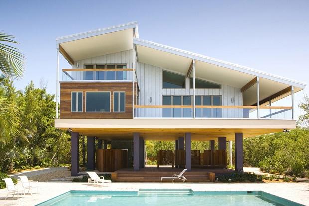 Шикарный особняк Tavernier Drive от Luis Pons Design Lab