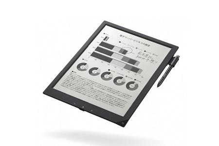 Sony готова выпустить 13,3-дюймовую цифровую бумагу к маю