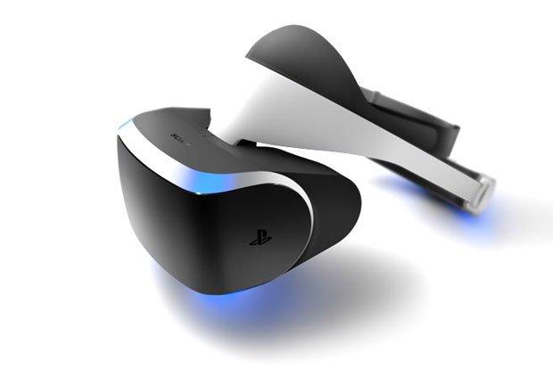 Sony представила шлем виртуальной реальности для PS4