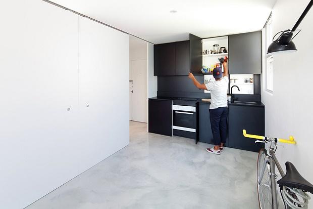 Студия площадью 27 кв. метров
