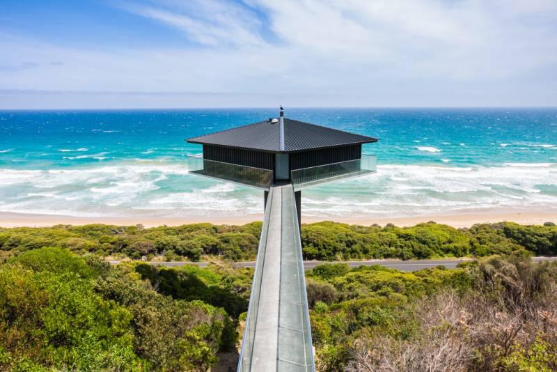 Дом над океаном в Австралии