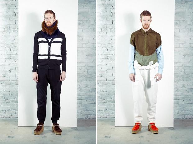 Лукбук коллекции одежды марки undecorated MAN Осень/Зима 2014