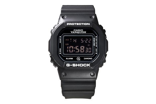 Часы VANQUISH x Casio G-Shock DW-5600E-1