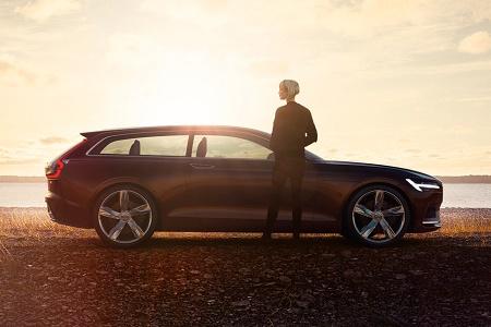 Volvo рассекретила концепт-кар Concept Estate