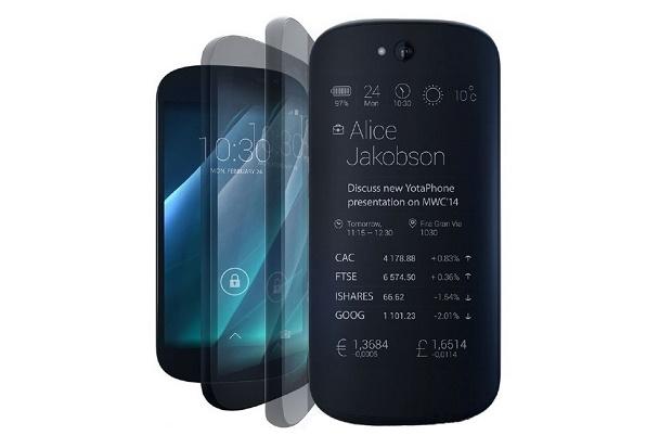 Yota анонсировала второе поколение телефонов YotaPhone