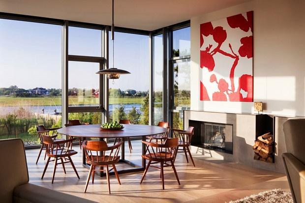 Дом у залива в США от Leroy Street Studio