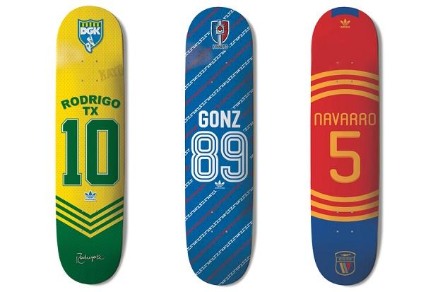 Коллекция Copa Deck от adidas Skateboarding 2014