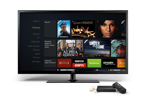 Amazon показала телеприставку Fire TV