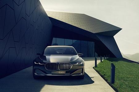 BMW Vision Future Luxury: концепт роскошного седана