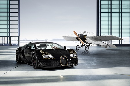 "Bugatti возрождают легендарную модель Type 8 ""Black Bess"""