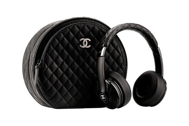 Кожаные наушники Monster x Chanel Осень/Зима 2014