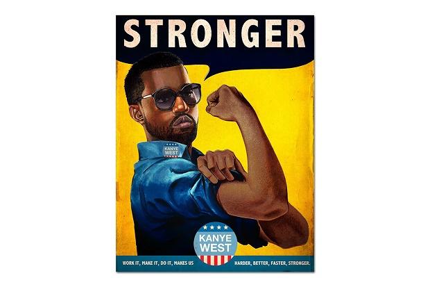 Винтажные постеры с Daft Punk, Kanye West и Beyonce