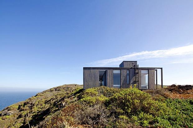 Дом для отдыха на берегу океана в Чили