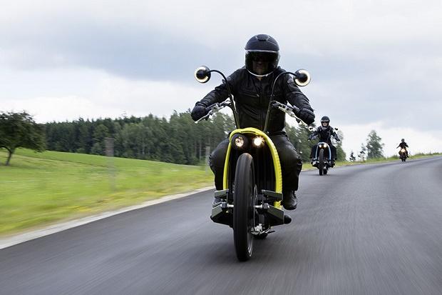 Электромотоцикл J1 от австрийской компании Johammer
