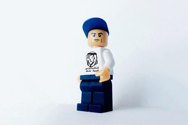 Эдли Рамли представил фигурки Lego с самыми крутыми брендами