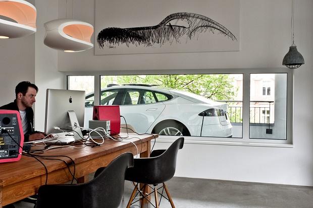 Интерьер офиса студии Kippenberger в Берлине