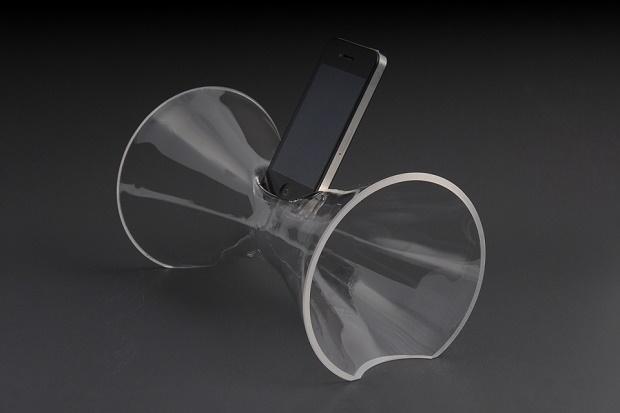 Cтеклянная аудиосистема для iPhone