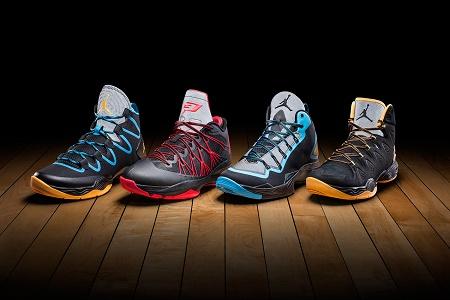 Коллекция кроссовок Jordan Brand 2014 Playoff