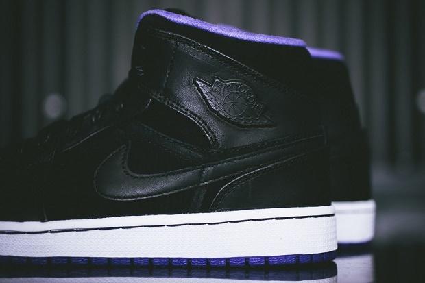 "Кеды Air Jordan 1 Mid ""Nouveau Purple"""