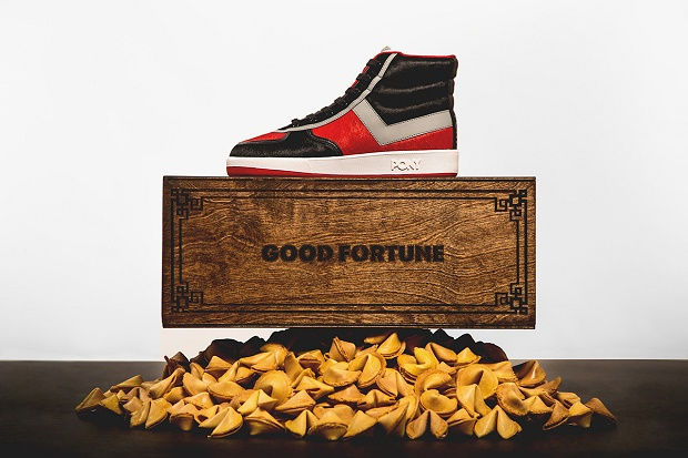 "Кеды Wish x PONY Slam Dunk Hi ""Good Fortune"""