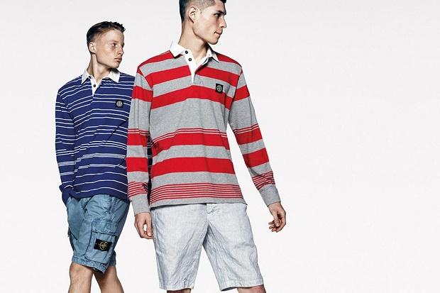 Коллекция одежды Stripes от Stone Island Весна/Лето 2014