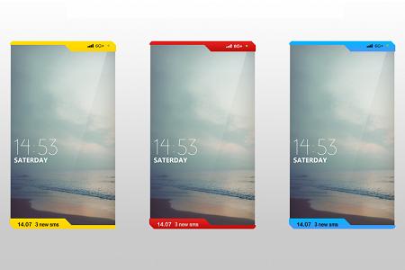 Концепт скручиваемого смартфона Nokia Lumia из 2020 года