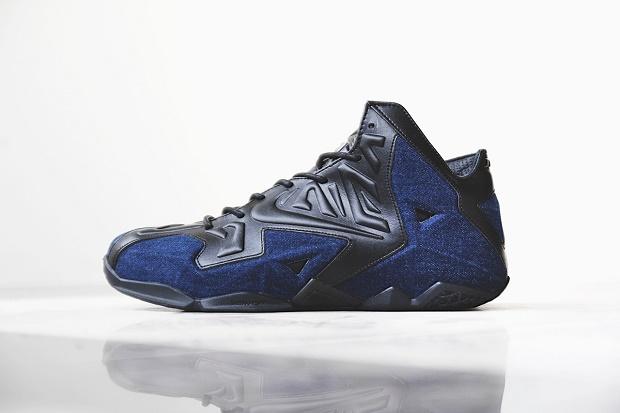 Nike LeBron 10 Denim PE  Black amp Red  KicksOnFirecom