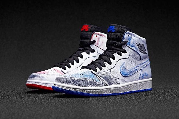 Кроссовки Nike SB x Air Jordan 1 от Лэнса Маунтина