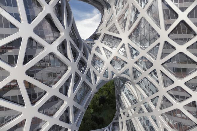 Заха Хадид представила проект нового отеля в Макао