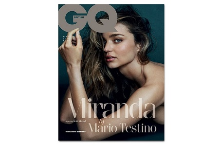 Миранда Керр в журнале GQ Май 2014