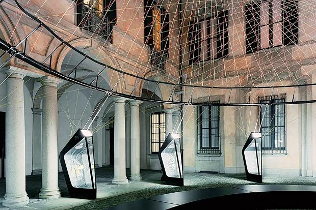 Nike создал инсталляцию для недели дизайна в Милане