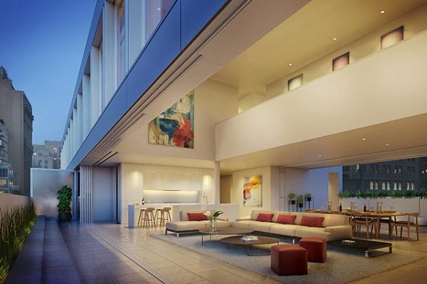 Сигэру Бан обновил один из чугунных домов Нью-Йорка