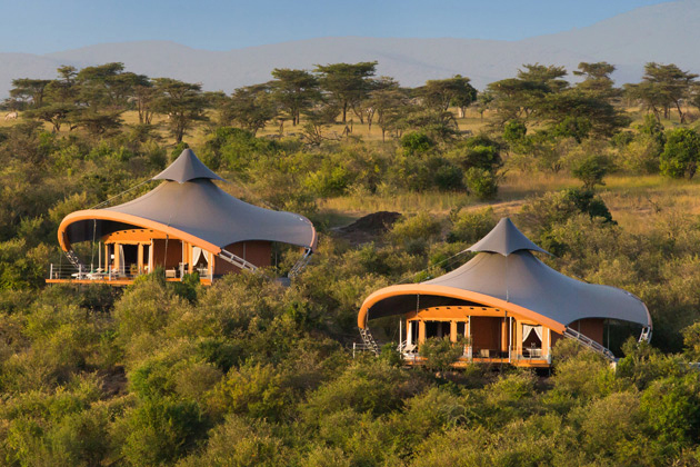 Ричард Брэнсон открывает сафари-отель в Кении