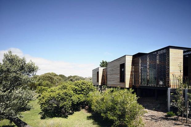 Современный дом из дерева в Блэргоури