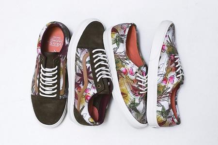 """Коллекция кед Vans California """"Floral Camo"""" сезона Весна 2014"""