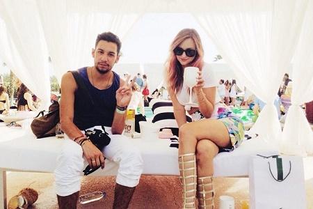 Вечеринка Lacoste Beautiful Desert Pool 2014