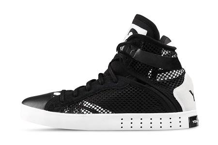 Кеды Adidas Y-3 Laver High сезона Весна/Лето 2014