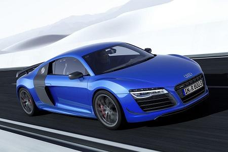 Audi представила R8 LMX с лазерными фарами