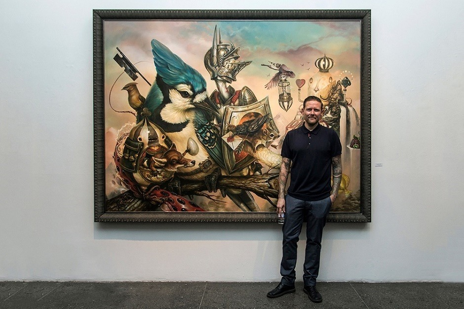 "Авторская выставка Greg ""Craola"" Simkins ""Good Knight"""