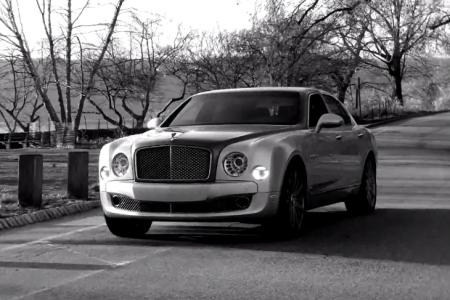 Bentley снял рекламу на iPhone и смонтировал на iPad