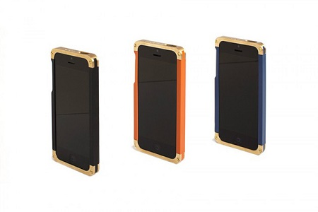 Чехлы REVISIT Solid Brass для iPhone 5/5s