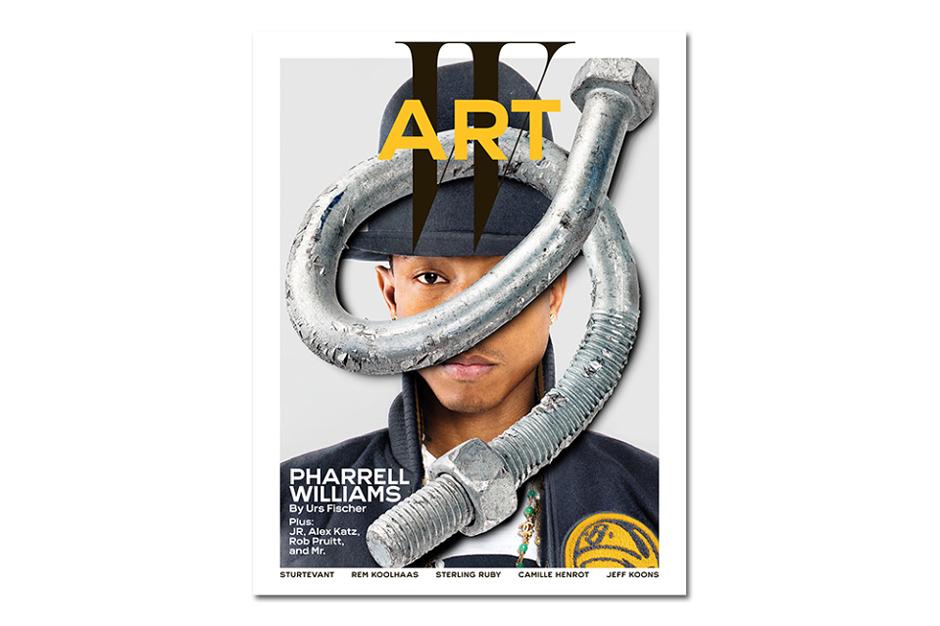 Фаррелл Уильямс на обложке W Magazine