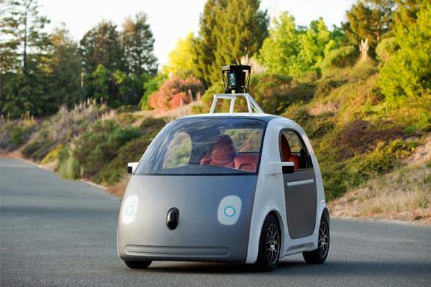 Google представил самоуправляемый автомобиль