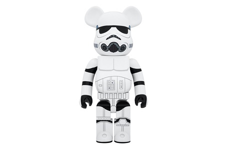 "Коллаборация Star Wars x Medicom Toy Bearbrick 1000% ""Stormtrooper"""