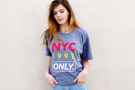 Коллекция футболок ONLY NY Лето 2014