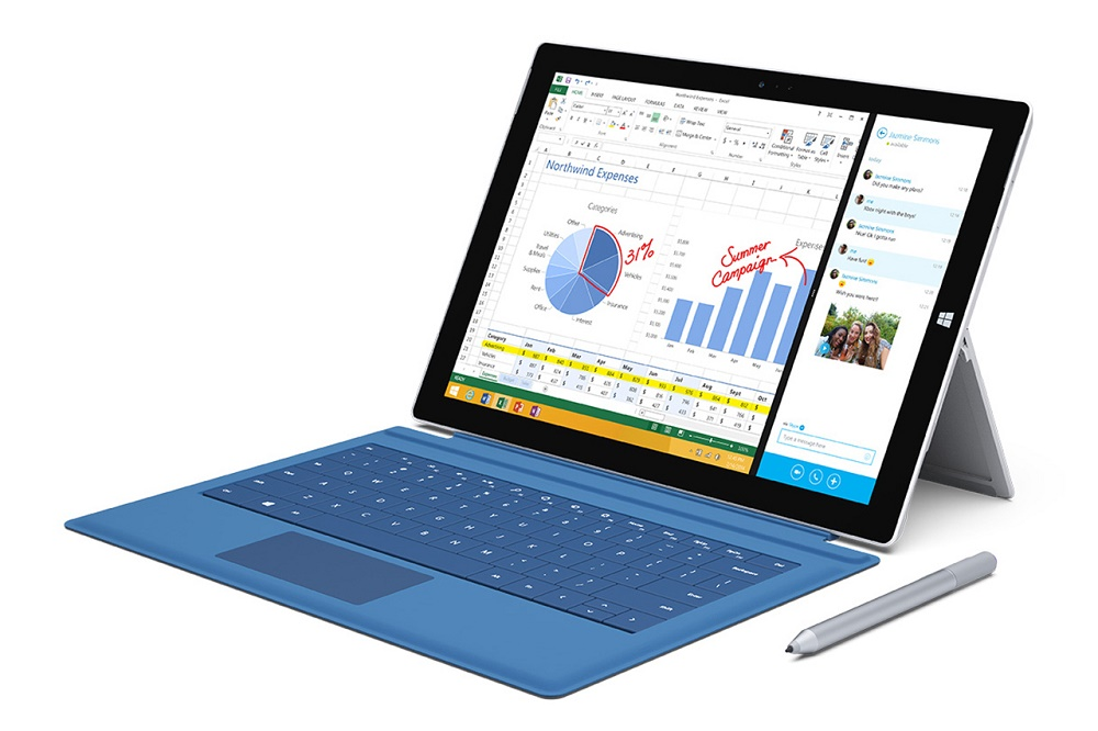 Microsoft представила планшет Surface Pro 3