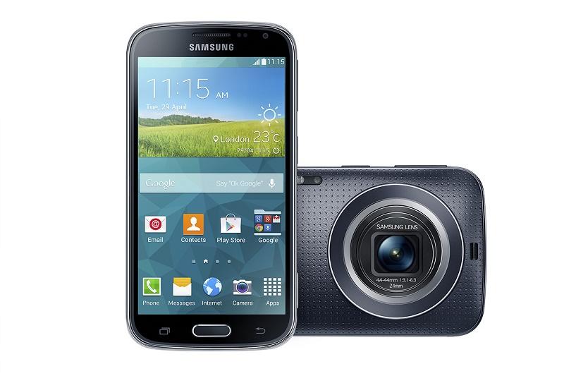 Samsung анонсировала смартфон Galaxy K Zoom с 10х оптическим зумом